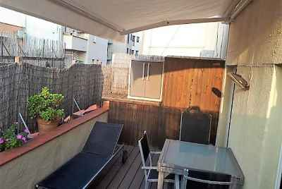 Apartment with terrace in Les Corts district